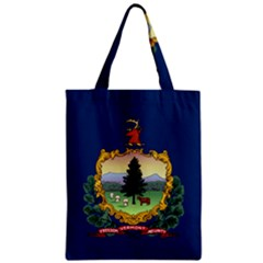 Flag Of Vermont Zipper Classic Tote Bag by abbeyz71
