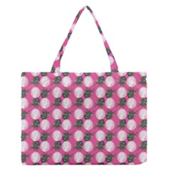 Pink Bride Zipper Medium Tote Bag by snowwhitegirl