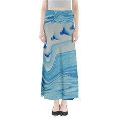 Space Bend Full Length Maxi Skirt by WILLBIRDWELL