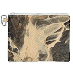Smoke On Water Canvas Cosmetic Bag (xxl) by WILLBIRDWELL