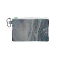 Blue Ice Canvas Cosmetic Bag (small) by WILLBIRDWELL