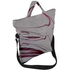 Wine Fold Over Handle Tote Bag by WILLBIRDWELL