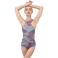Melancholy Cross Front Low Back Swimsuit
