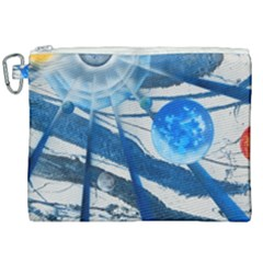 Pulsar Canvas Cosmetic Bag (xxl) by WILLBIRDWELL