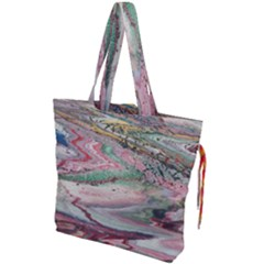 Frenzy Drawstring Tote Bag