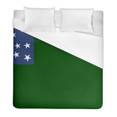 Flag Of Vermont Republic, 1777 1791 Duvet Cover (full/ Double Size) by abbeyz71