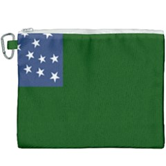 Flag Of Vermont Republic, 1777 1791 Canvas Cosmetic Bag (xxxl) by abbeyz71