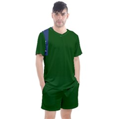Flag Of Vermont Republic, 1777-1791 Men s Mesh Tee And Shorts Set