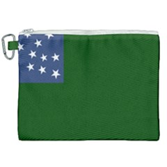 Flag Of The Green Mountain Boys Canvas Cosmetic Bag (xxl) by abbeyz71
