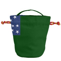 Flag Of The Green Mountain Boys Drawstring Bucket Bag
