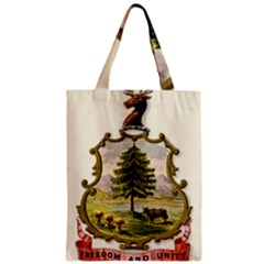 Coat Of Arms Of Vermont Zipper Classic Tote Bag by abbeyz71