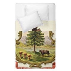 Coat Of Arms Of Vermont Duvet Cover Double Side (single Size) by abbeyz71
