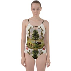 Coat Of Arms Of Vermont Cut Out Top Tankini Set by abbeyz71