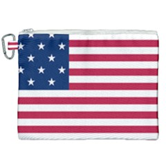 Flag Of Vermont, 1804 1837 Canvas Cosmetic Bag (xxl) by abbeyz71