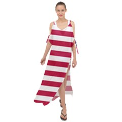 Flag Of Vermont, 1804 1837 Maxi Chiffon Cover Up Dress