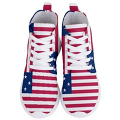 Flag Of Vermont, 1804 1837 Women s Lightweight High Top Sneakers by abbeyz71