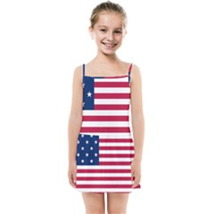 Flag Of Vermont, 1804 1837 Kids Summer Sun Dress