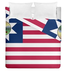 Flag Of Vermont, 1837 1923 Duvet Cover Double Side (queen Size) by abbeyz71