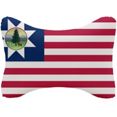 Flag Of Vermont, 1837 1923 Seat Head Rest Cushion by abbeyz71
