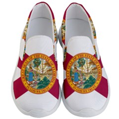 Flag Of Florida Men s Lightweight Slip Ons by abbeyz71