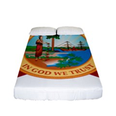 Flag Of Florida, 1900 1985 Fitted Sheet (full/ Double Size) by abbeyz71