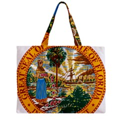 Great Seal Of Florida  Zipper Mini Tote Bag by abbeyz71