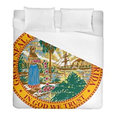 Great Seal Of Florida  Duvet Cover (full/ Double Size) by abbeyz71