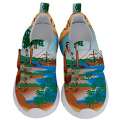 Great Seal Of Florida, 1900 1985 Velcro Strap Shoes by abbeyz71