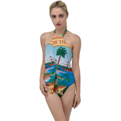 Great Seal Of Florida, 1900 1985 Go With The Flow One Piece Swimsuit by abbeyz71