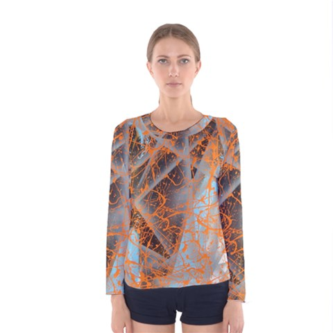 String Theory Women s Long Sleeve Tee by WILLBIRDWELL