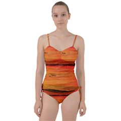 Sunset Sweetheart Tankini Set by WILLBIRDWELL