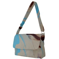 Mother Eart Full Print Messenger Bag