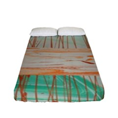 Wheat Field Fitted Sheet (full/ Double Size)