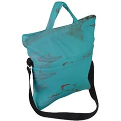 Copper Pond Fold Over Handle Tote Bag