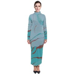 Copper Pond 2 Turtleneck Maxi Dress