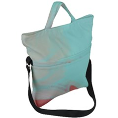 Dune Fold Over Handle Tote Bag