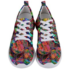 Rainbow Bubbles Abtract Men s Lightweight Sports Shoes