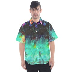 3d Paint                                     Men s Short Sleeve Shirt