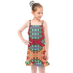 Misc Tribal Shapes                                            Kids  Overall Dress