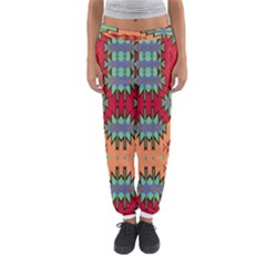 Misc Tribal Shapes                                               Women s Jogger Sweatpants