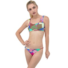 Colorful Squares                                                 The Little Details Bikini Set