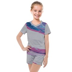 Sorrow 2 Kids  Mesh Tee And Shorts Set