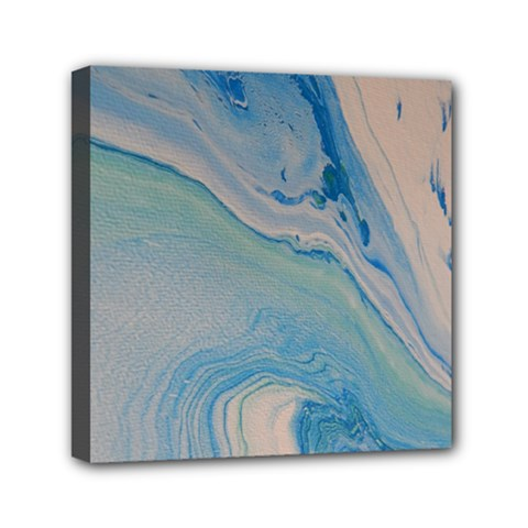 Pacific Mini Canvas 6  X 6  (stretched) by WILLBIRDWELL