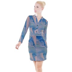 Pacific Button Long Sleeve Dress by WILLBIRDWELL