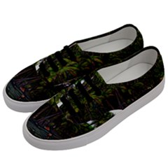 Hawaiian Beach Abstract Men s Classic Low Top Sneakers by bloomingvinedesign