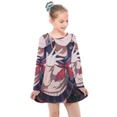 19 Kids  Long Sleeve Dress by miuni