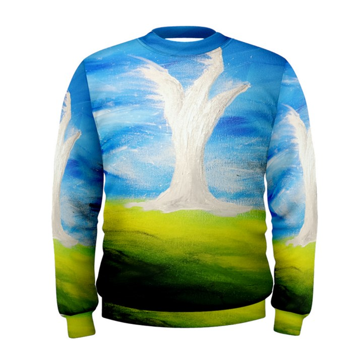 Max Franzblau s White Tree Sweatshirt