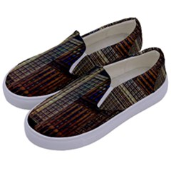 Michigan Avenue Chicago Kids  Canvas Slip Ons by bloomingvinedesign
