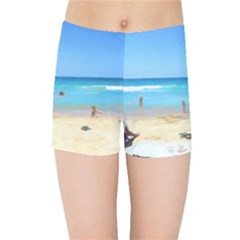 Day At The Beach Kids Sports Shorts