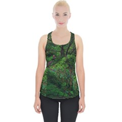 Wilderness Crossing Piece Up Tank Top by bloomingvinedesign